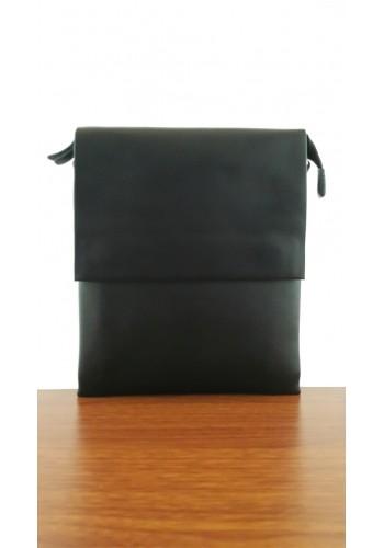 S 6001-15 Мъжка чанта от естествена кожа изчистен модел за през рамо