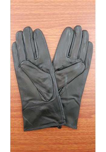 LUX 1675 - Дамски ръкавици от луксозна естествена кожа в черно
