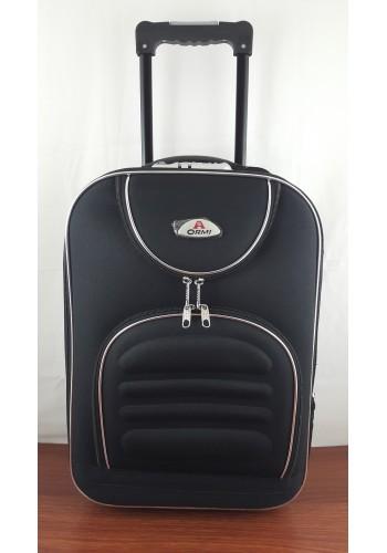 ST 104740 Mалък текстилен авио куфар - размер ''ХS'' в  черен цвят - 47/32/20см