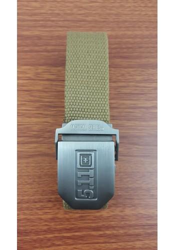 S 1035-01 Текстилен колан за универсална употреба в тъмно бежово - MILITARY