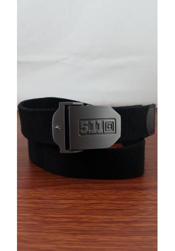 S 1035-02 Текстилен колан за универсална употреба в черно - MILITARY