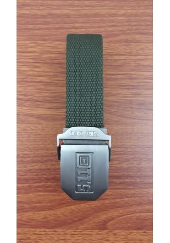 S 1035-03 Текстилен колан за универсална употреба в зелено - MILITARY