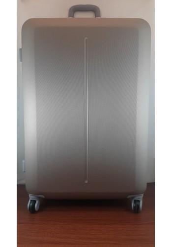 """S 203752 Куфар от PVC полимер - голям """"L"""" размер на 4 колела в цвят  ЗЛАТИСТО - ШАМПАНСКО 76/50/31см"""
