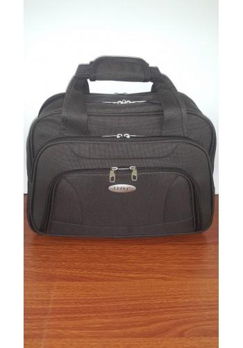 S 10002 Авиочанта за ръчен багаж от импрегниран текстил в кафяво 45/30/25 см