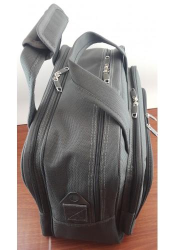 S 10002 Авиочанта за ръчен багаж от импрегниран текстил в сиво 45/30/25 см