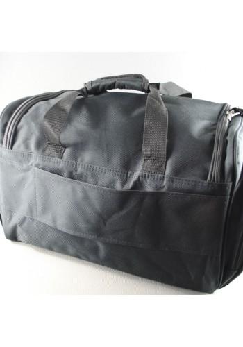 """S 10001 Класически сак """"Авио"""" подходящ за ръчен и ежедневен багаж в черно"""
