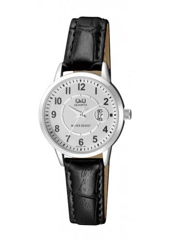 A457J304Y Дамски часовник Q&Q с кожена каишка
