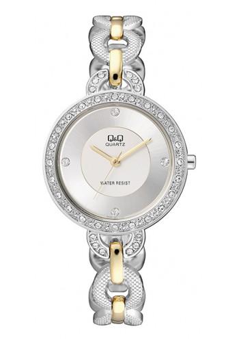 F525J401Y Дамски часовник Q&Q с метална верижка