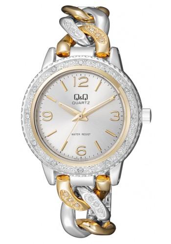 F535-404Y Дамски часовник Q&Q с метална верижка