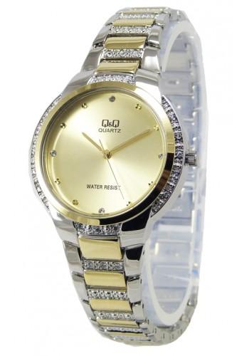 F543J400Y Дамски часовник Q&Q с метална верижка