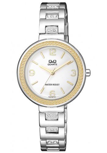 F555-404Y Дамски часовник Q&Q с метална верижка