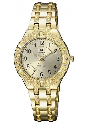 F557-003Y Дамски часовник Q&Q с метална верижка