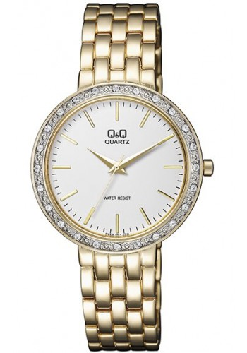 F559-001Y Дамски часовник Q&Q с метална верижка