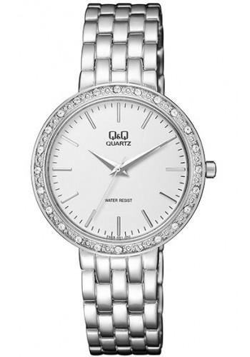 F559-201Y Дамски часовник Q&Q с метална верижка