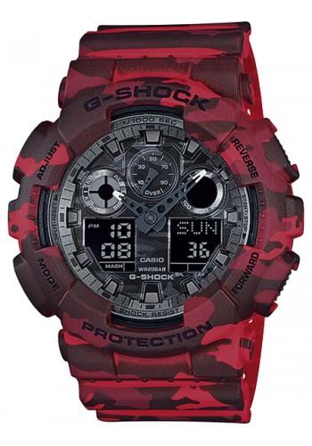 GA-100CM-4AER  Мъжки часовник CASIO  G-SHOCK
