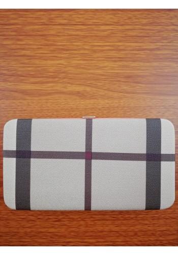 HZB-10 Дамско клъч портмоне от еко кожа с отделение за телефон