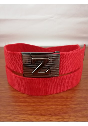 1035-07 Текстилен колан за универсална употреба в червен цвят