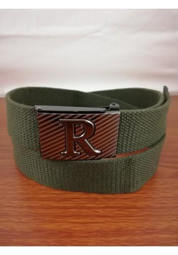1035-09 Текстилен колан за универсална употреба в маслено зелен цвят