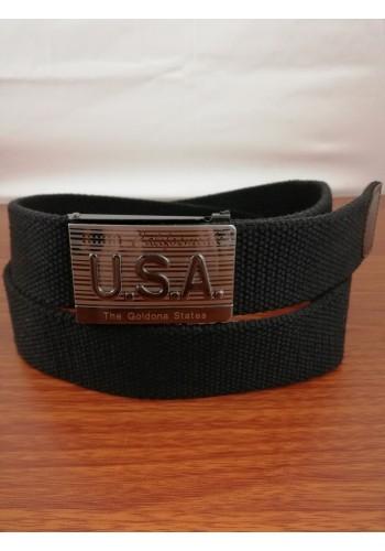 1035-10 Текстилен колан за универсална употреба в черно