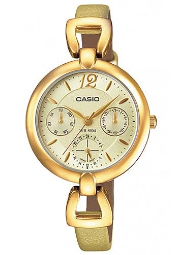 LTP-E401GL-9A Дамски часовник CASIO LEATHER WATCHES