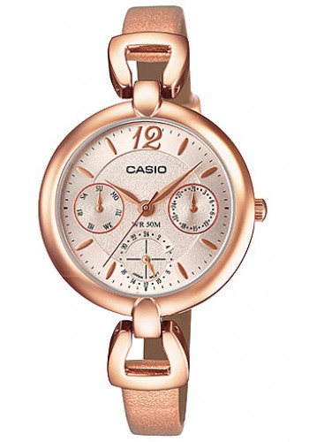 LTP-E401PL-9A Дамски часовник CASIO LEATHER WATCHES