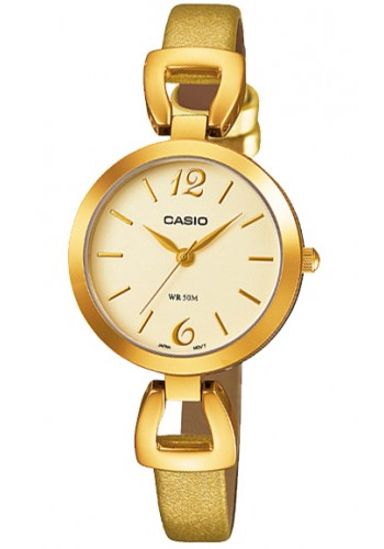 LTP-E402GL-9A Дамски часовник CASIO LEATHER WATCHES