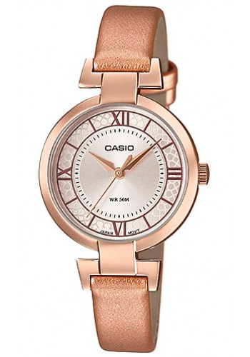 LTP-E403PL-9A1 Дамски часовник CASIO LEATHER WATCHES