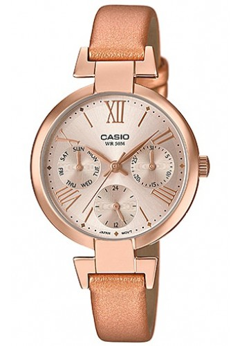 LTP-E404PL-9A1 Дамски часовник CASIO LEATHER WATCHES