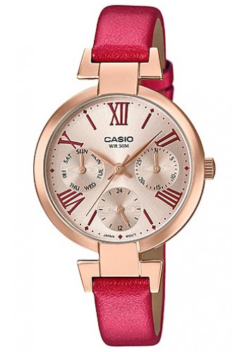 LTP-E404PL-9A2 Дамски часовник CASIO LEATHER WATCHES