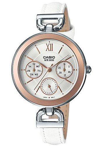 LTP-E406L-7A Дамски часовник CASIO LEATHER WATCHES