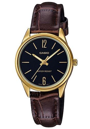 LTP-V005GL-1B  Дамски часовник CASIO LEATHER WATCHES
