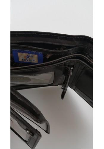 Мъжки портфейл COSSET от италианска естествена кожа в тъмно кафяво с много отделения