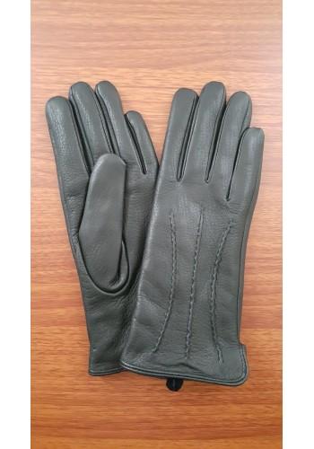 ЕЛЕН 2 - Дамски ръкавици от луксозна ЕЛЕНСКА кожа в черно