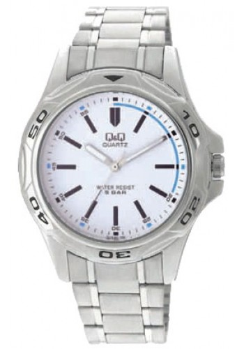 Q472-201Y - Мъжки часовник Q&Q STANDARD ANALOG METAL WATCHES