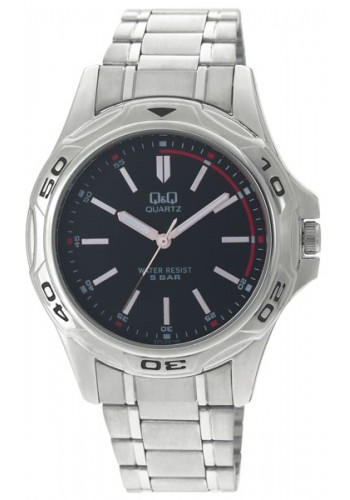 Q472-202Y - Мъжки часовник Q&Q STANDARD ANALOG METAL WATCHES