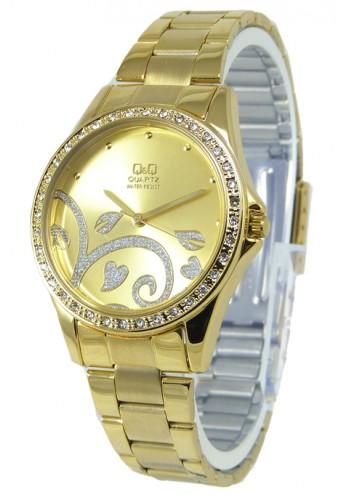 Q985J802Y Дамски часовник Q&Q с метална верижка