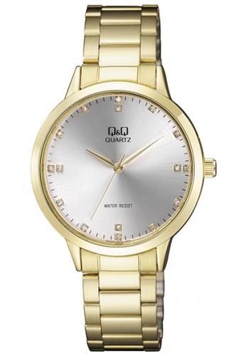 QA09J011Y Дамски часовник Q&Q с метална верижка