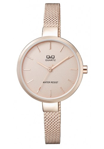 QA15J020Y Дамски часовник Q&Q с метална верижка
