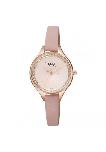 QB73J102Y  Дамски часовник Q&Q с антиалергична кожена каишка