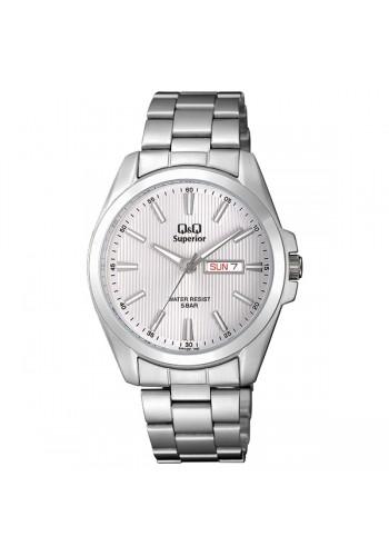 S284J201Y  Мъжки часовник Q&Q с метална верижка