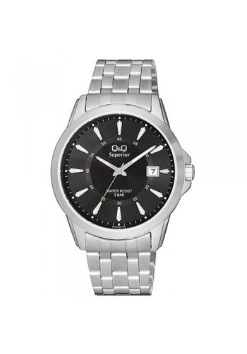 S300J202Y - Мъжки часовник с метална верижка Q&Q