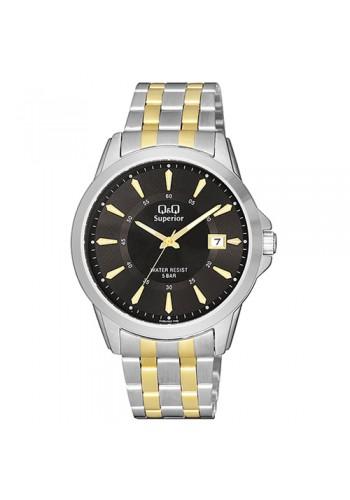 S300J402Y - Мъжки часовник с метална верижка Q&Q SUPERIOR