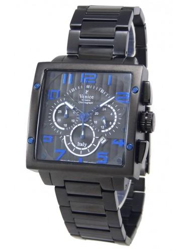"""T6006-4  Мъжки часовник """"VENICE"""" metal watches с метална - стоманена верижка"""