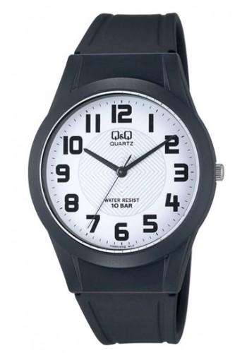 VQ50J002Y - Унисекс часовник Q&Q черен силикон
