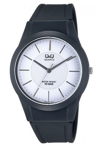 VQ50J003Y - Унисекс часовник Q&Q черен силикон