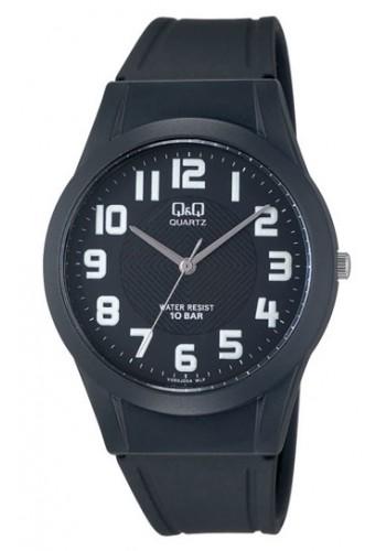 VQ50J004Y - Унисекс часовник Q&Q черен силикон