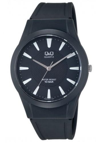 VQ50J005Y - Универсален УНИСЕКС часовник Q&Q черен силикон