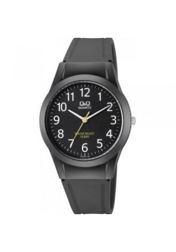 VQ50J022Y - Унисекс часовник Q&Q черен силикон