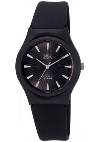 VQ86J019Y - Унисекс часовник Q&Q черен силикон