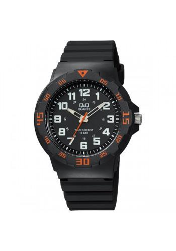 VR18J008Y  Мъжки часовник Q&Q - силиконова каишка в черно